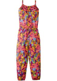 Jumpsuit, bpc bonprix collection, donkerfuchsia gebloemd