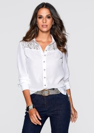 Blouse, bpc selection, wit