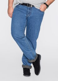 Thermojeans classic fit straight, bpc bonprix collection, blauw