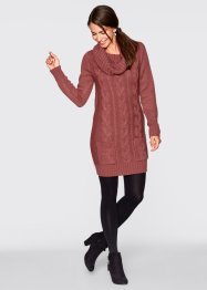 Gebreide jurk, bpc bonprix collection, marsala