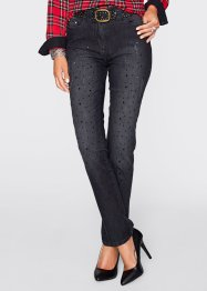 Stretchjeans, bpc selection premium, black stone