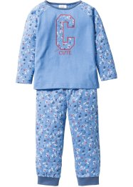 Pyjama (2-dlg. set), bpc bonprix collection, middenblauw