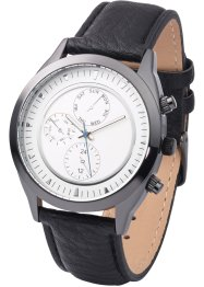 Herenhorloge, bpc bonprix collection, zwart