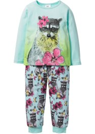Pyjama (2-dlg. set), bpc bonprix collection, pastelmint