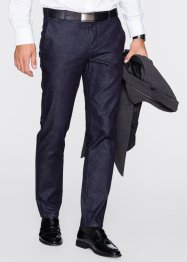 Kostuumbroek slim fit, RAINBOW, dark blue