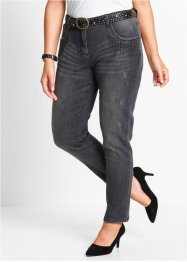 Stretchjeans, bpc selection, black denim