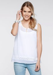 Blousetop, bpc bonprix collection, wit