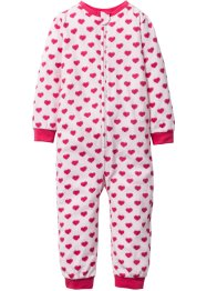 Pyjama, bpc bonprix collection, lichtroze/donkerpink