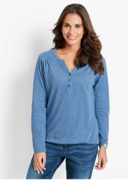 Longsleeve, bpc bonprix collection, jeansblauw