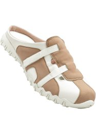 Instapschoenen, bpc bonprix collection, sand/wit