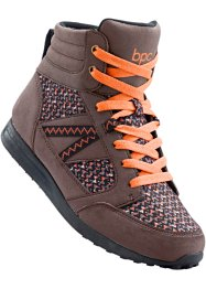Trekkingschoenen, bpc bonprix collection, bruin/oranje