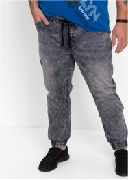 Jeans slim fit straight, RAINBOW, grey denim