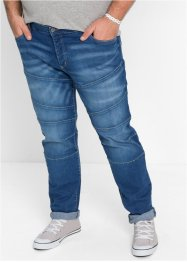 Stretchjeans SLIM, RAINBOW, medium blue bleached used