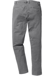 Broek slim fit straight, RAINBOW, grijs