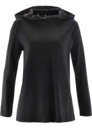 Sweatshirt, bpc bonprix collection, zwart