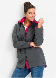 Softshell-jack, bpc bonprix collection, antraciet