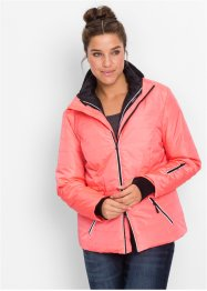3in1-outdoorjack, bpc bonprix collection, neonzalmkleur