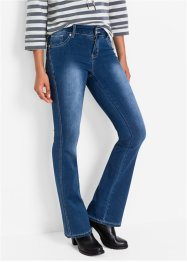 Powerstretchjeans BOOTCUT, John Baner JEANSWEAR, donkerblauw