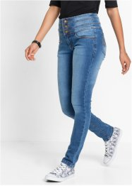Corrigerende stretchjeans skinny, John Baner JEANSWEAR, blauw