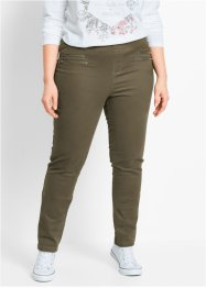Jegging, bpc bonprix collection, donkerolijfgroen