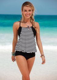 Tankini (2-dlg. set), RAINBOW, zwart/wit