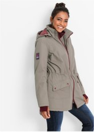 Functionele outdoorjas, bpc bonprix collection, taupe
