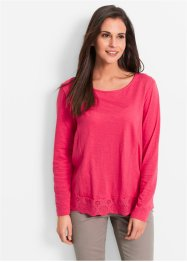 Shirt, bpc bonprix collection, hibiscuspink