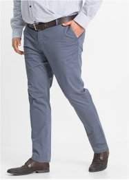 Chino slim fit, bpc selection, blauw gedessineerd