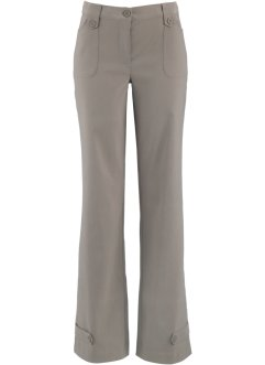 Bengalin stretchbroek «recht», bpc bonprix collection, taupe