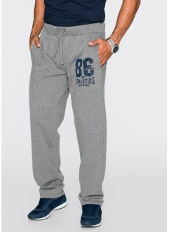 Sweatbroek regular fit, bpc bonprix collection, grijs gemêleerd