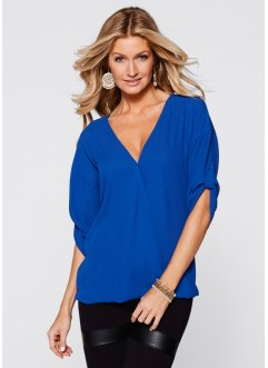 Blouse, BODYFLIRT boutique, blauw