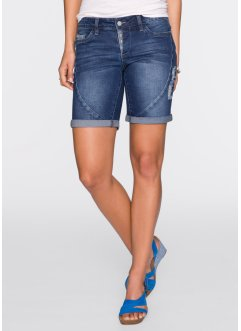 Jeansshort, RAINBOW, dark denim