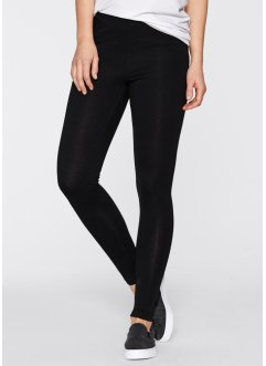 Legging (set van 2), bpc bonprix collection, wit+zwart