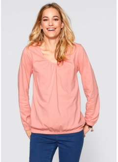 Longsleeve, bpc bonprix collection, lichtkoraal