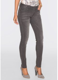 Stretchjeans, BODYFLIRT, light grey used