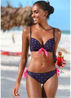 Beugelbikini, bpc bonprix collection, donkerblauw