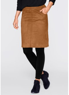 Rok, bpc bonprix collection, cognac