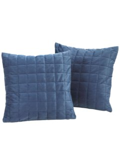 Bankloper «Fleece», bpc living, blauw