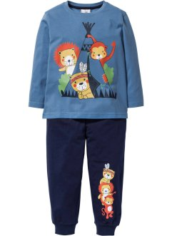 Pyjama (2-dlg. set), bpc bonprix collection, indigo/donkerblauw