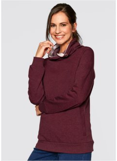 Sweatshirt, bpc bonprix collection, ahornrood