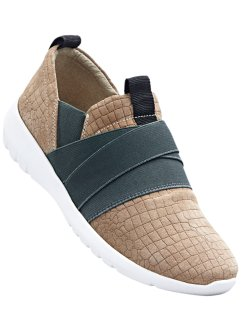 Instapschoenen, bpc bonprix collection, beige