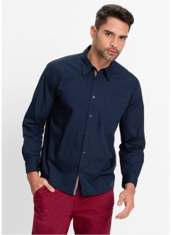 Overhemd, bpc bonprix collection, donkerblauw