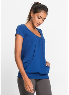Longshirt, bpc bonprix collection, gentiaanblauw