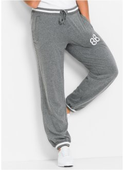Sportbroek, bpc bonprix collection, grijs gemêleerd