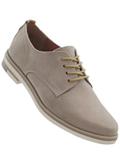 Veterschoenen, bpc bonprix collection, taupe