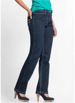 Corrigerende stretchjeans STRAIGHT, John Baner JEANSWEAR, blauw
