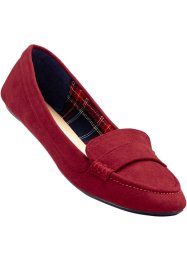 Mocassins, bpc bonprix collection, rood