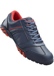 Sneakers, bpc selection, blauw/rood