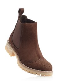 Chelseaboots, bpc bonprix collection, donkerbruin