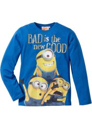 Longsleeve «Minions», Despicable Me 2, azuurblauw